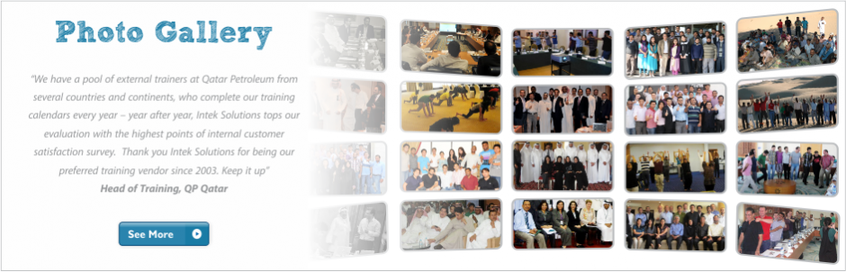 Intek Corporate Training Photo Gallery