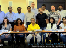 Attention to Sales, Leading & Motivating the Salespeople for Mekar - Dubai, UAE