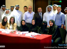 Team Building Workshop for Barwa Bank, Doha - Qatar