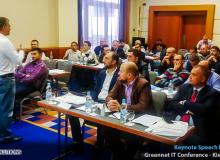 Keynote Speech by Haseebt at Greenet IT Conference - Kiev - Ukraine